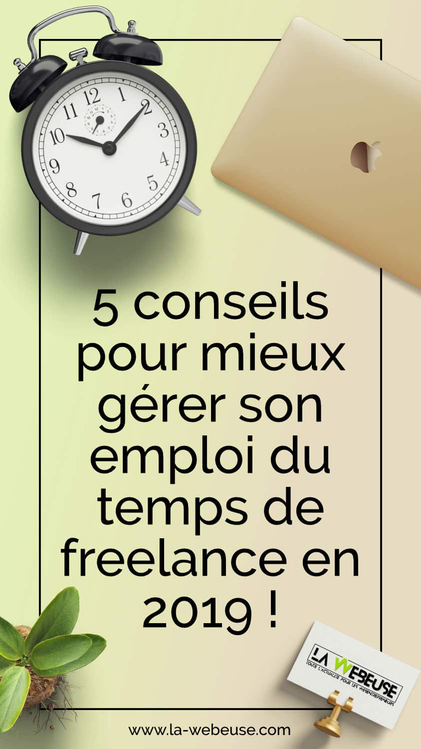 gerer son temps freelance