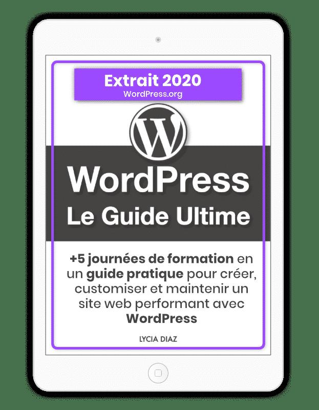 WordPress 2020 extrait gratuit