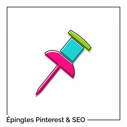 Épingles SEO et balises Pinterest