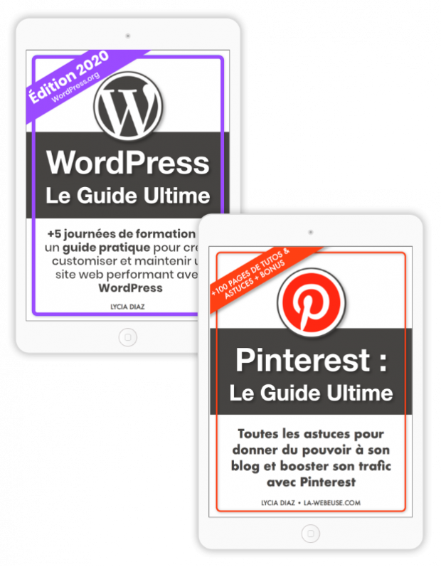 Pack Blogging : WordPress + Pinterest