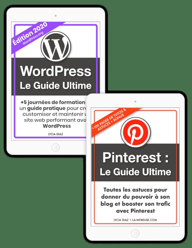 Pack Blogging : WordPress + Pinterest