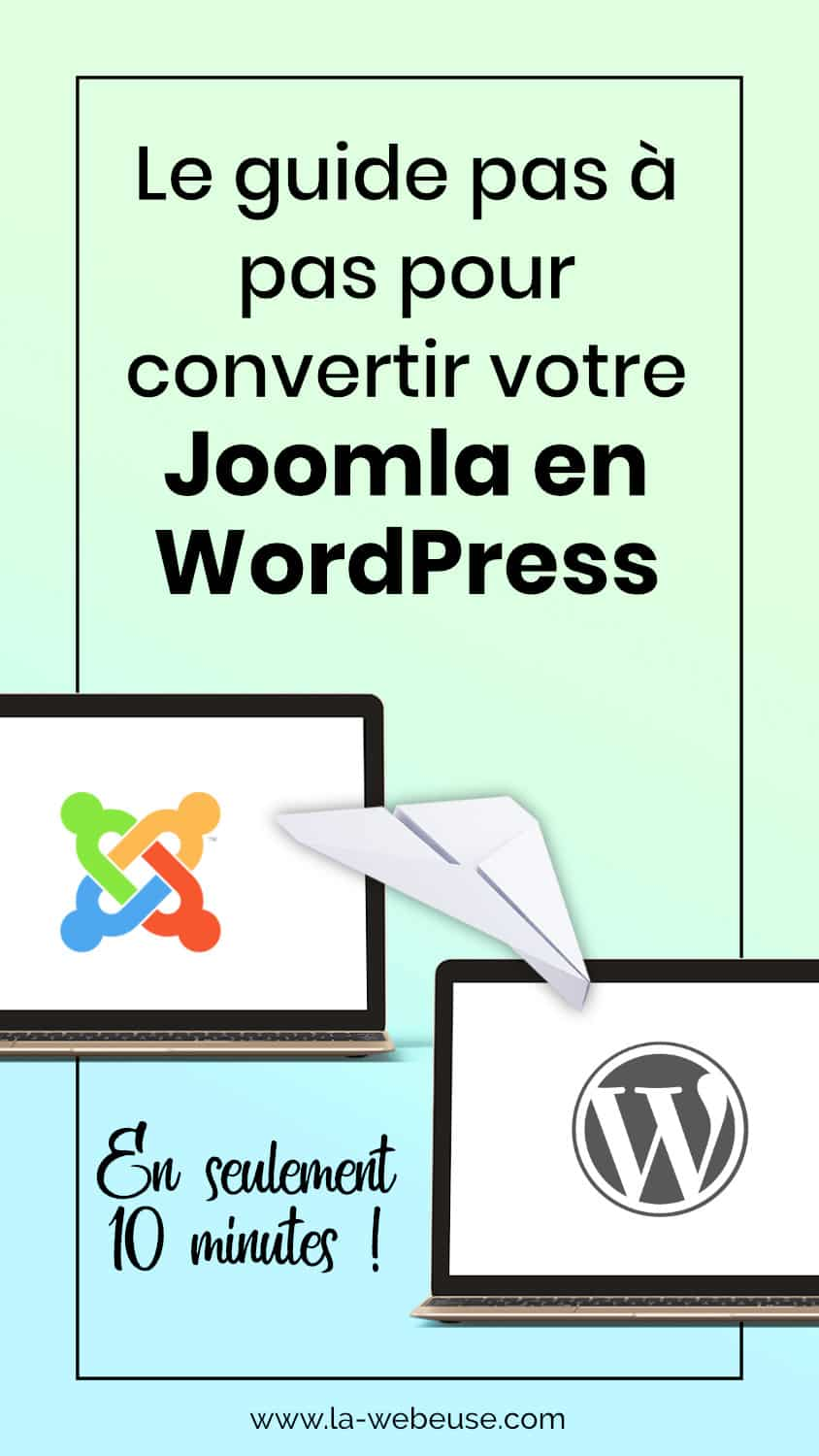 Convertir son Joomla en WordPress
