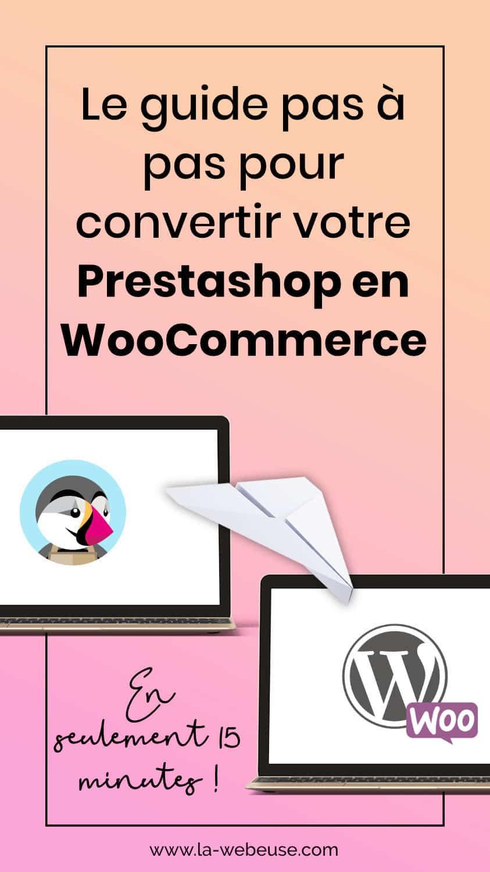 Comment convertir PrestaShop en WooCommerce