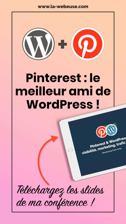 épingle conférence Pinterest