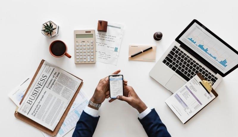 compte bancaire micro-entreprise : banque en ligne