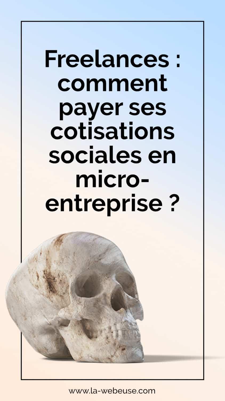 Cotisations sociales freelance
