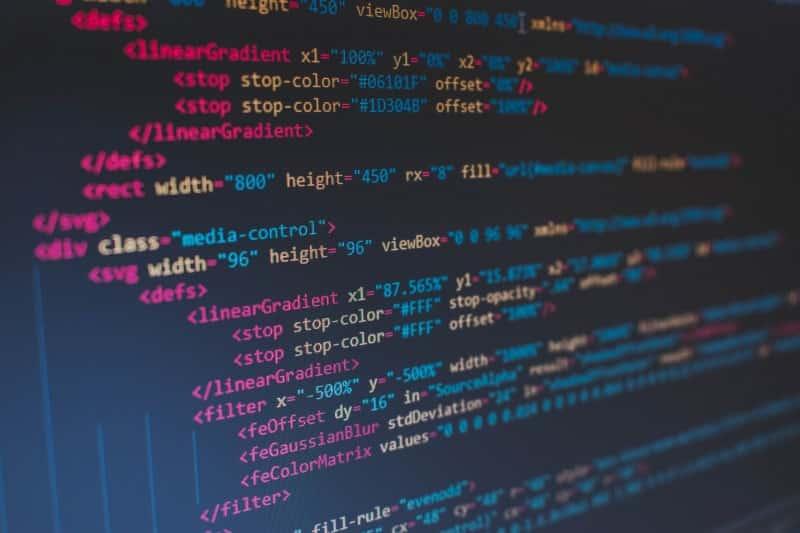 Compétences du web designer - écran HTML
