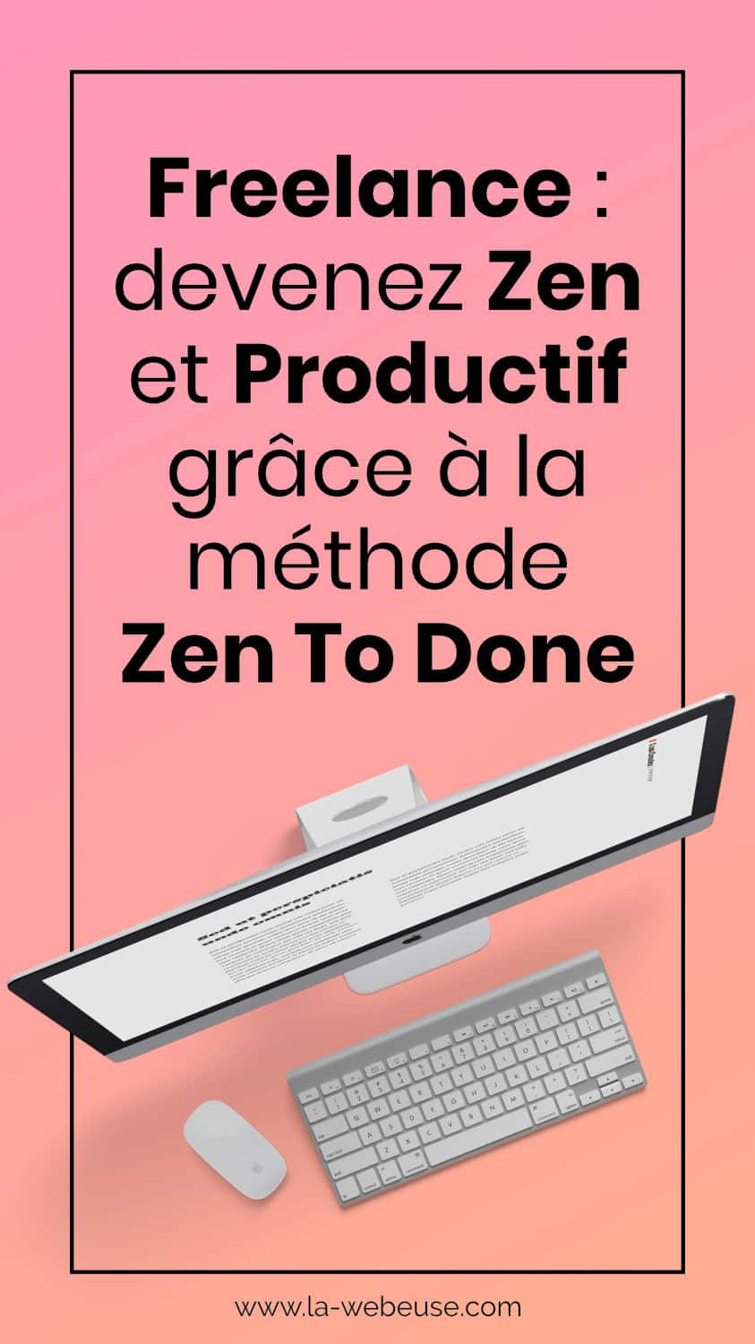 Zen To Done productivité