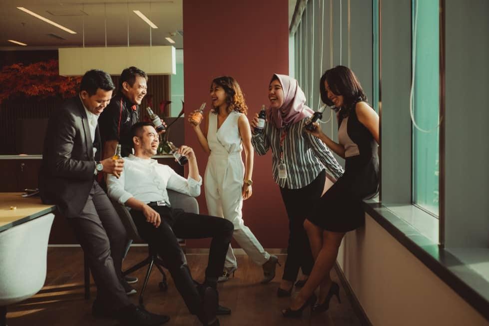 réseautage freelance - apéro entrepreneurs