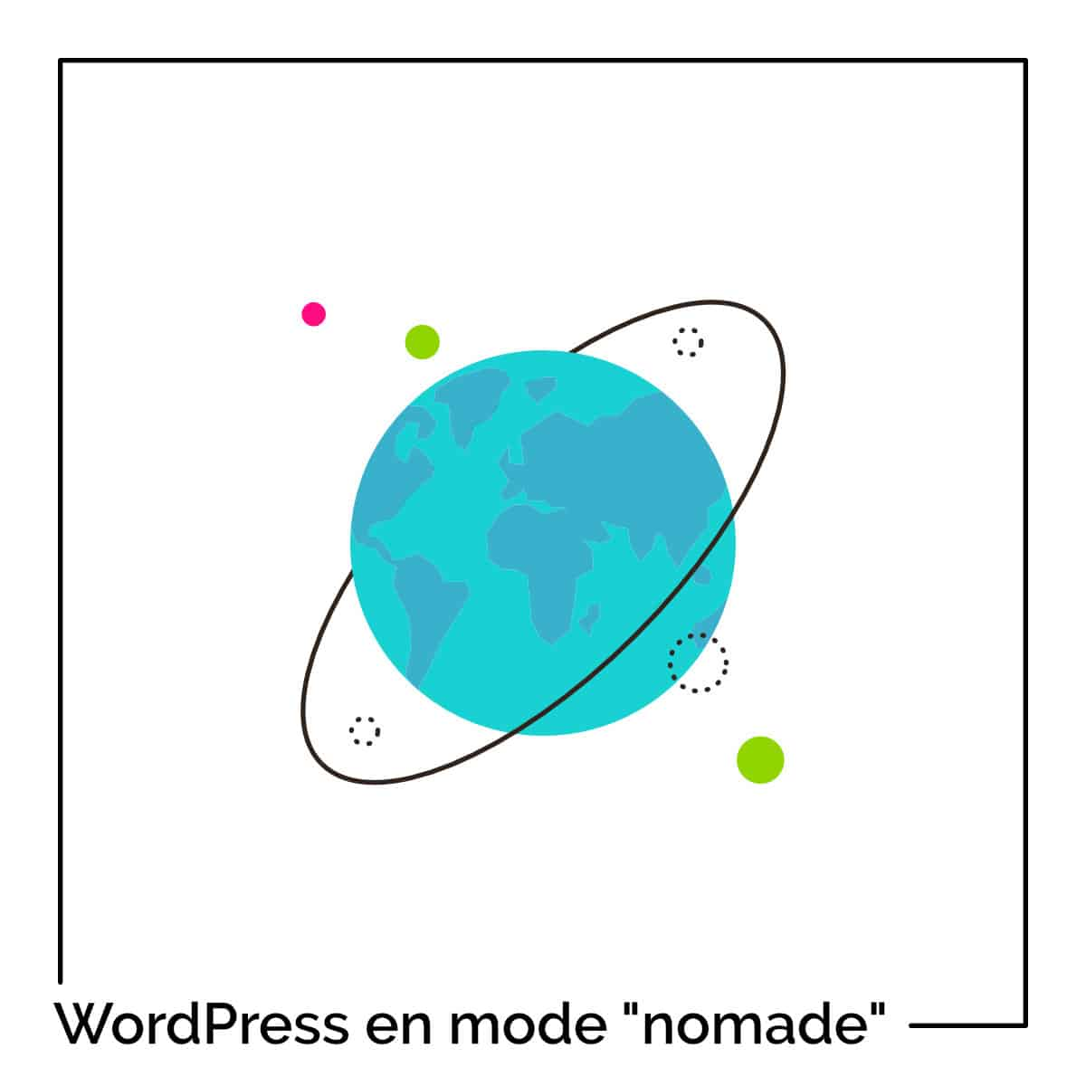 Site WordPress nomade