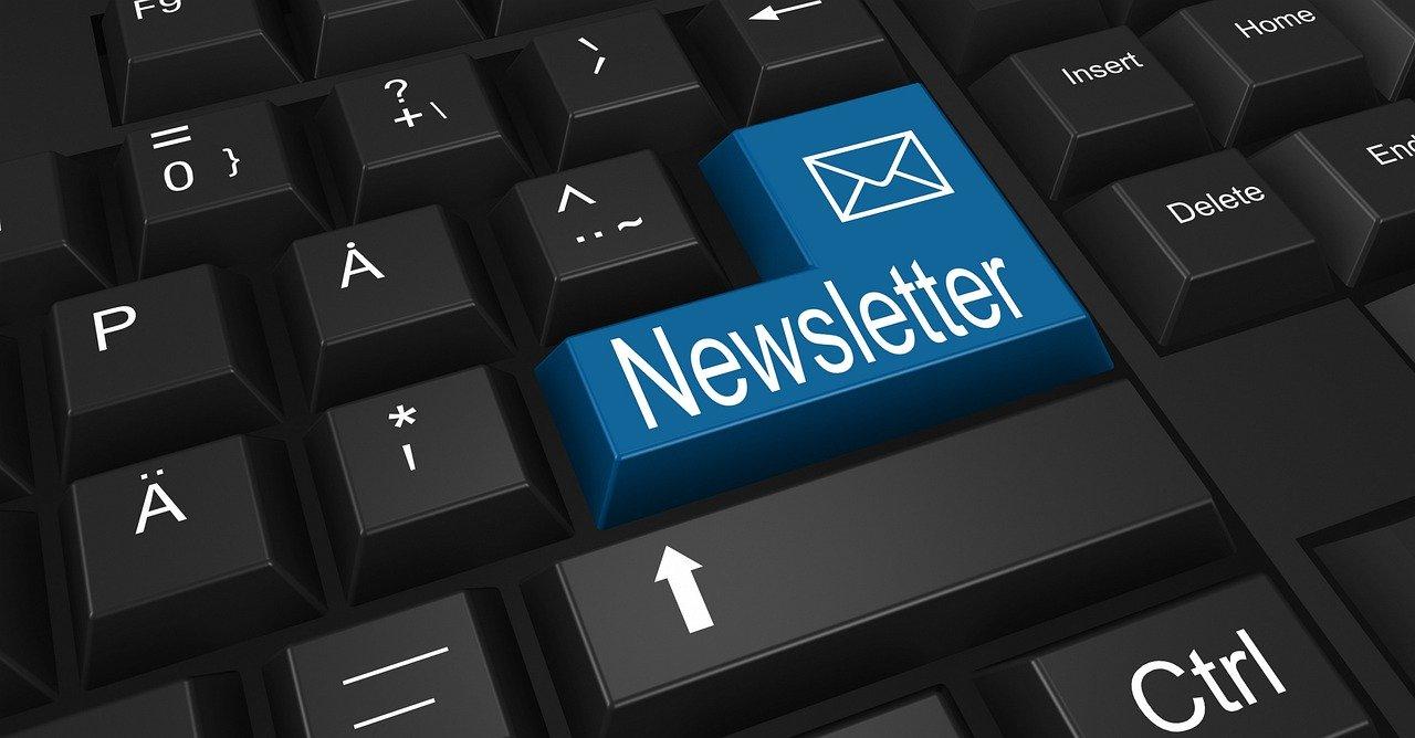 mailing list - envoi d'une newsletter