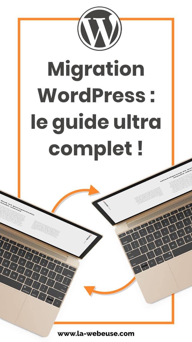 Migrez votre site WordPress