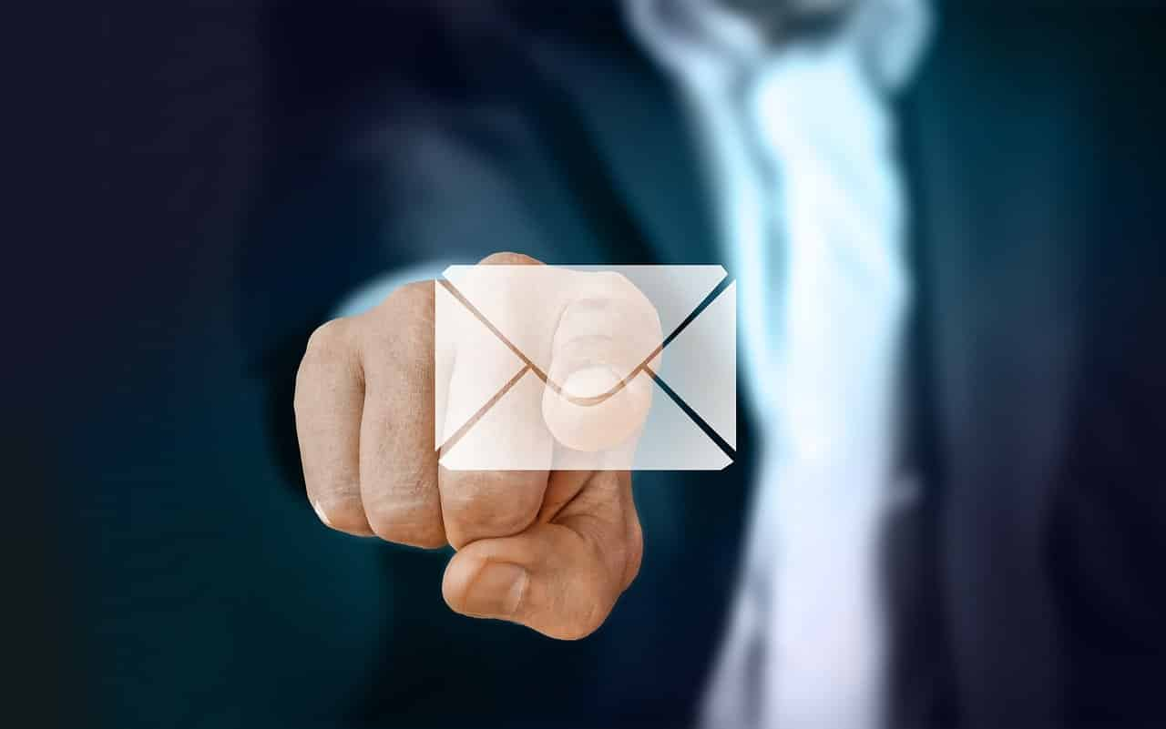 principes emailing - business enveloppe