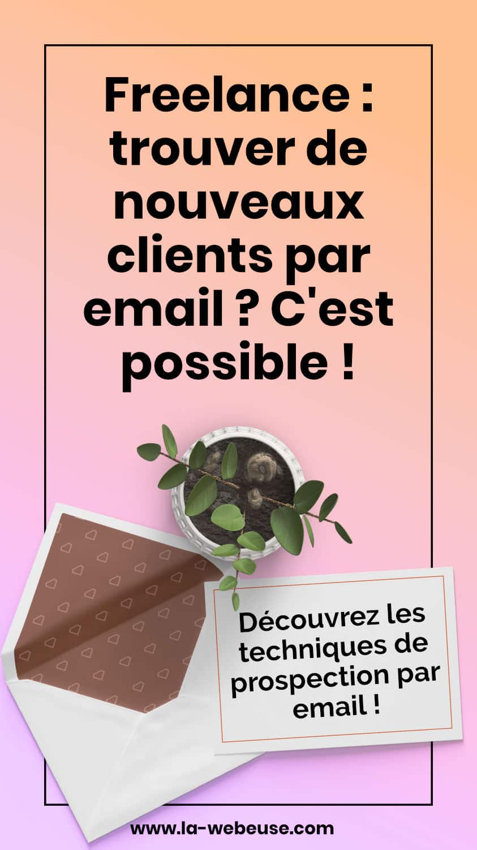 techniques de prospection par email