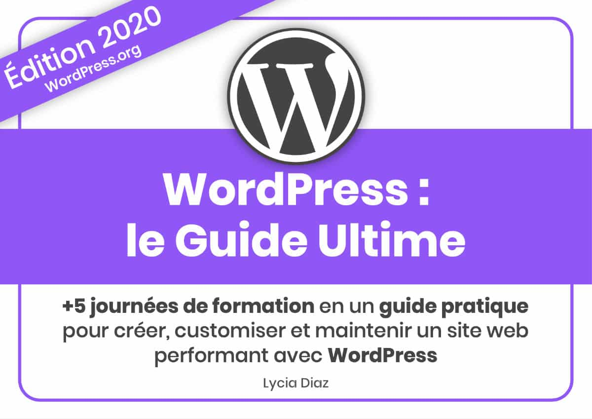 WordPress : Le guide ultime 2020 - PDF 477 pages