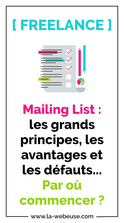 Mailing List ou Liste de diffusion