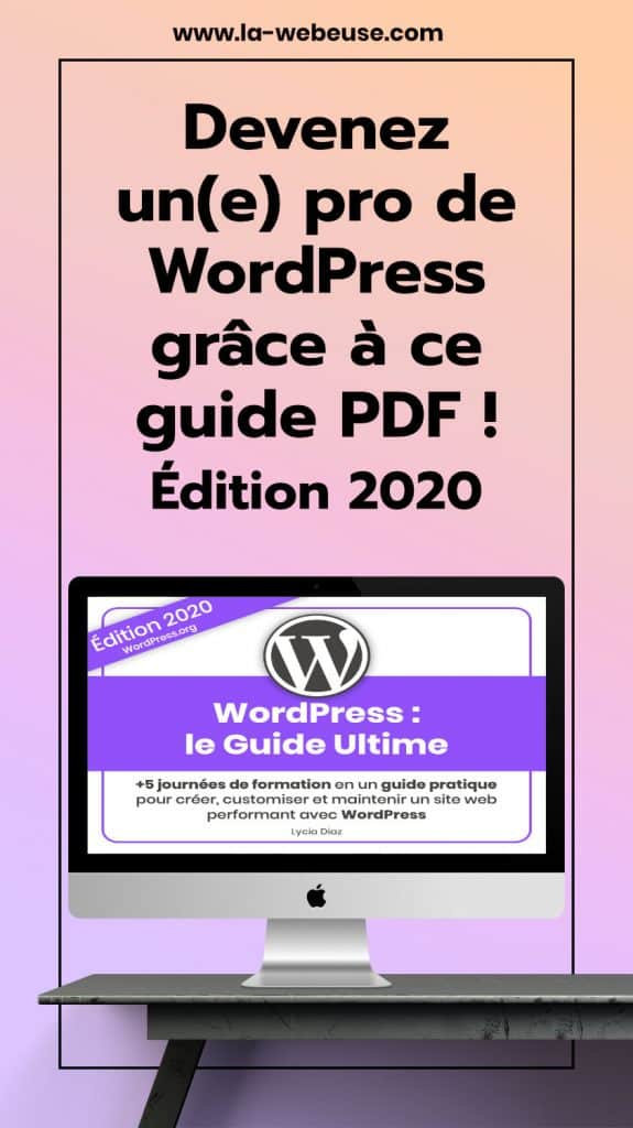 formation WordPress en PDF (guide WordPress PDF)
