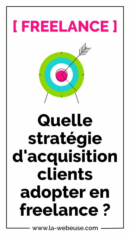 Stratégie d'acquisition clients en freelance