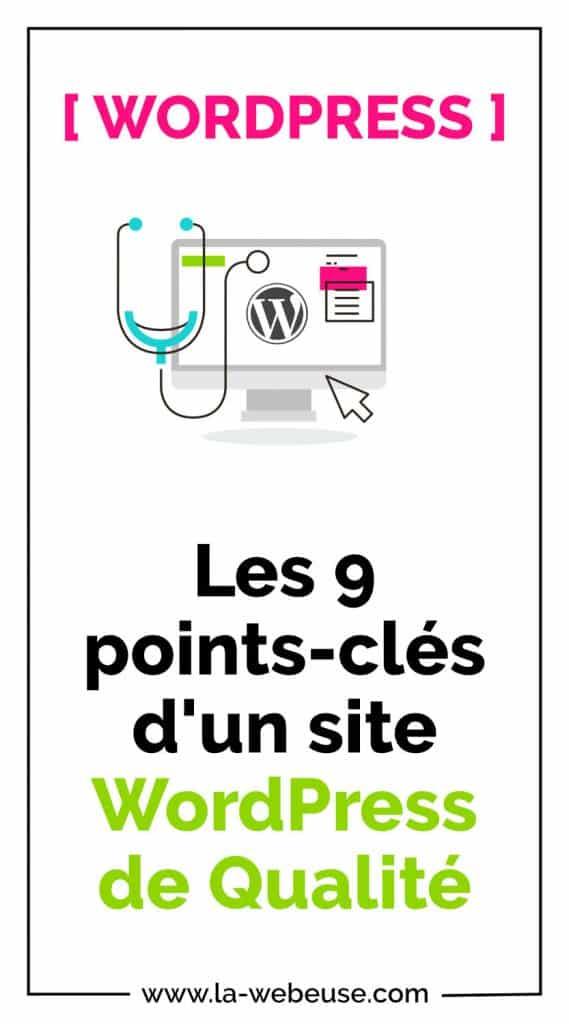 9 points de contrôle qualité web