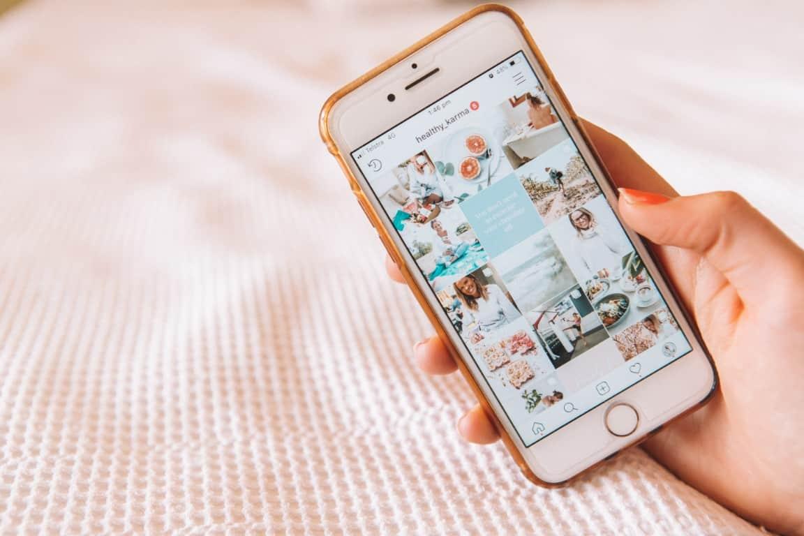 Micro-influenceurs Instagram - médias sociaux 2020
