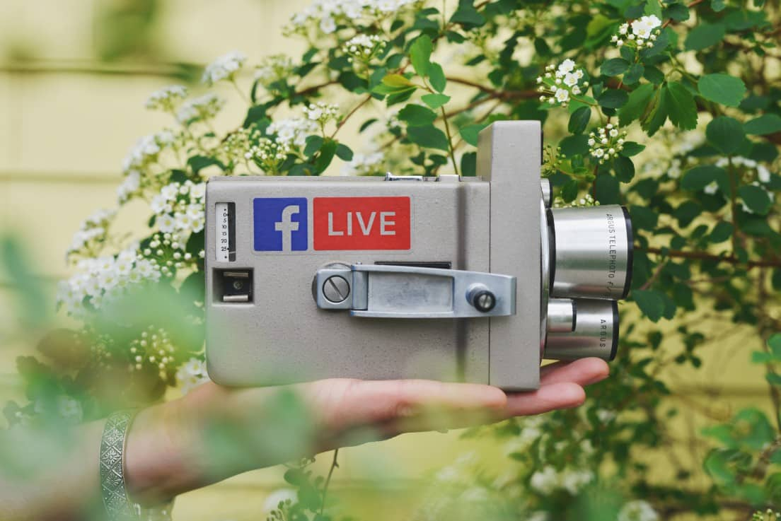 Tendances social media 2020 : video live facebook