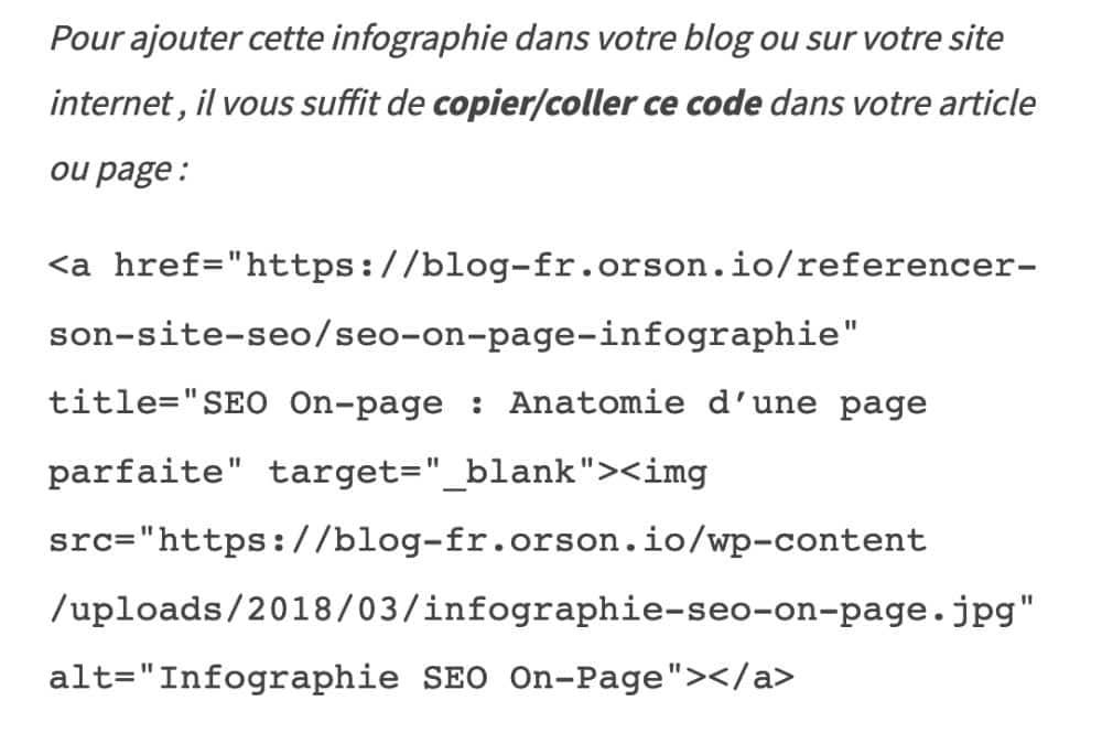 linkbuilding par infographie pour obtenir des backlinks gratuits