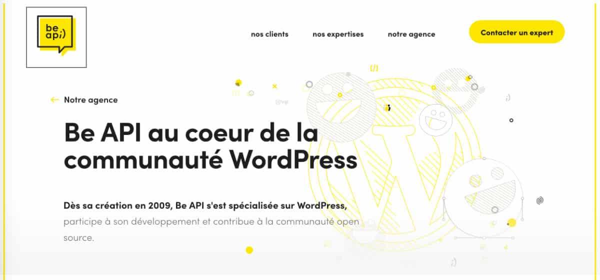 Agence WordPress BeAPI