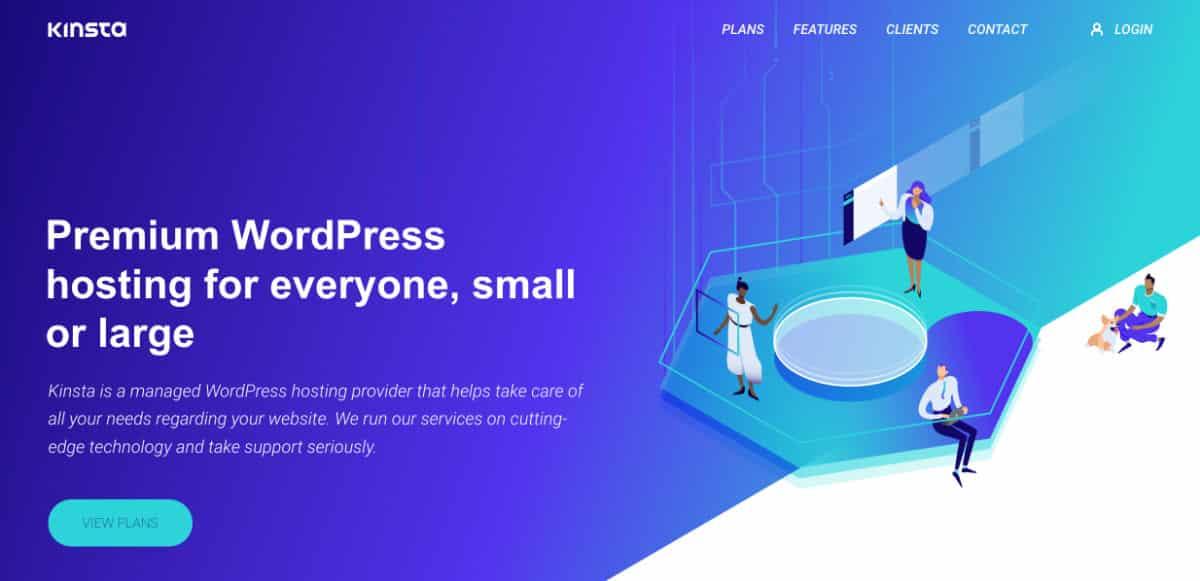 Kinsta hégergeur WordPress de qualité