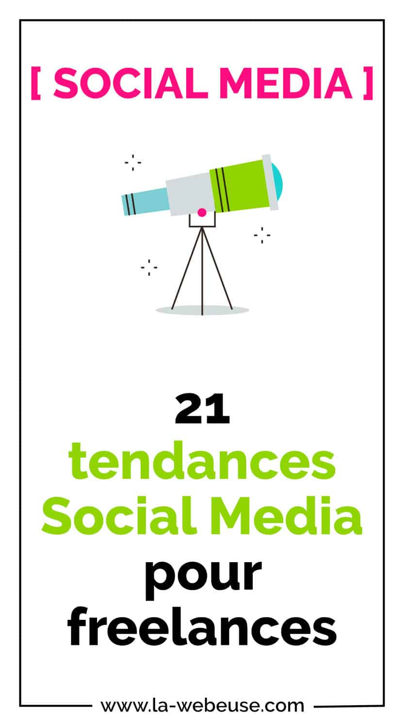 Tendances social media 2020 Pin