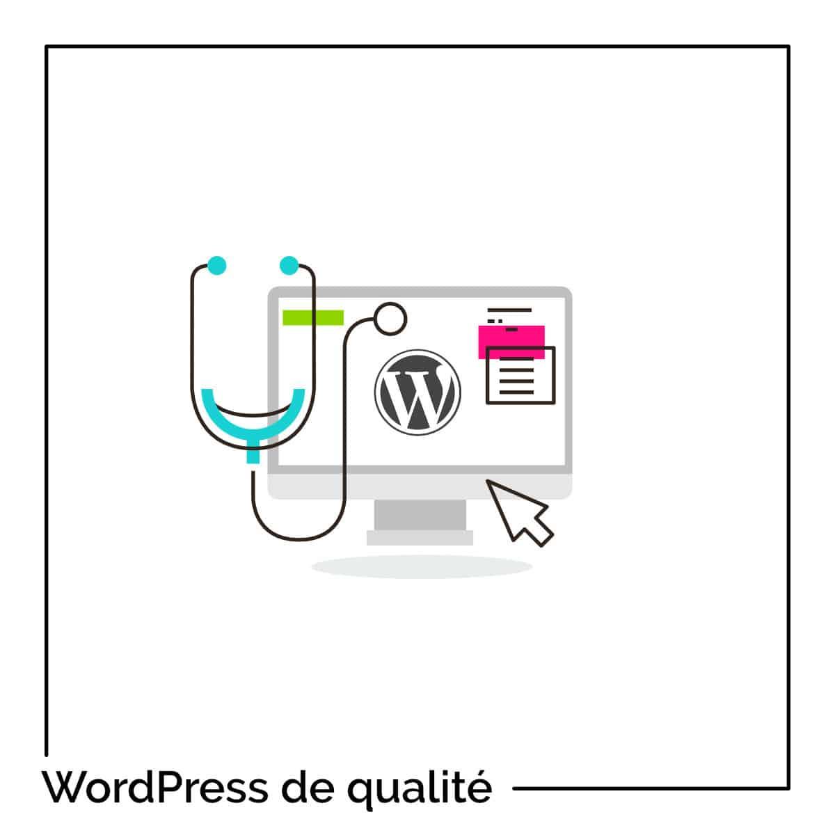 Site WordPress de qualité