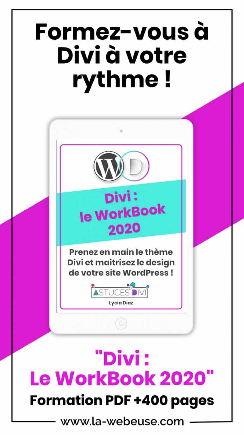 Divi Workbook Pin