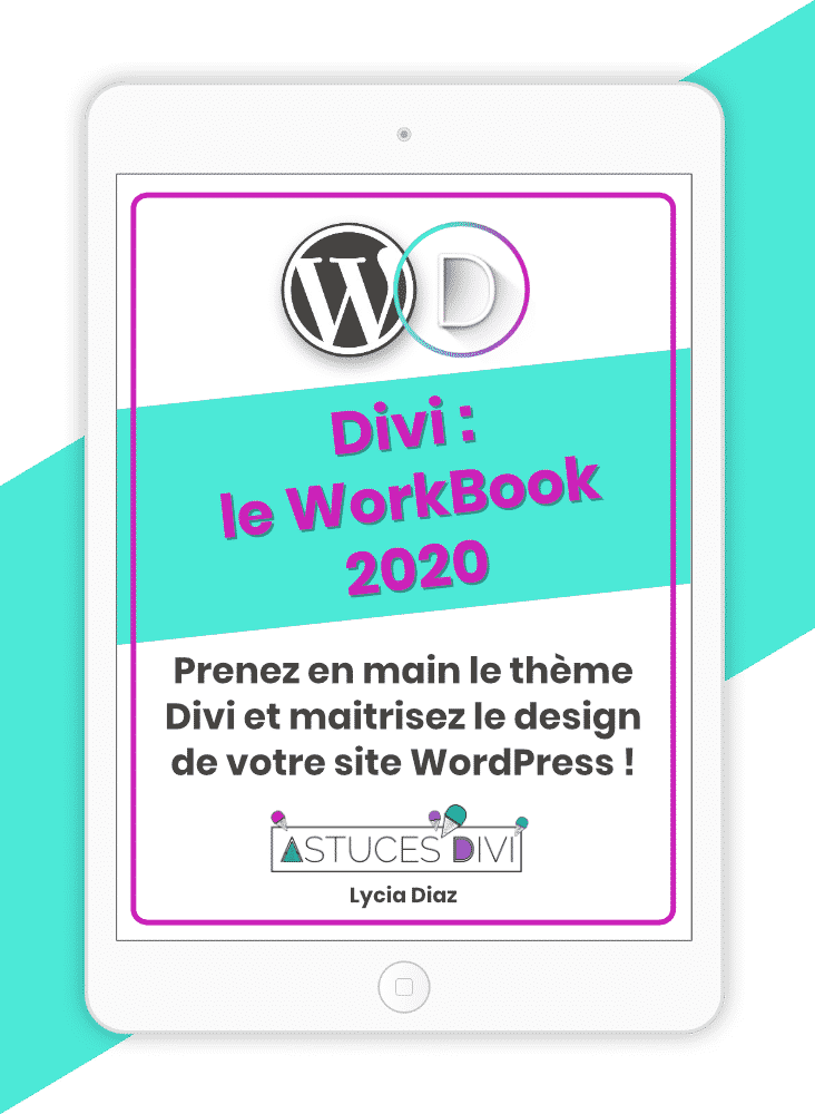 Workbook Divi 2020