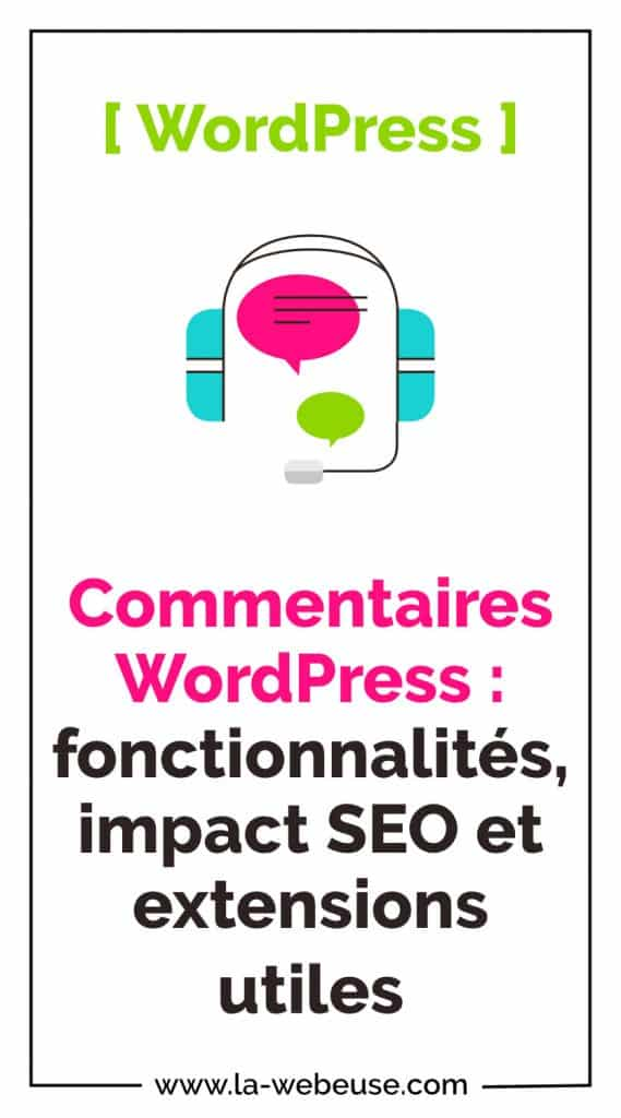 Commentaires WordPress Pin