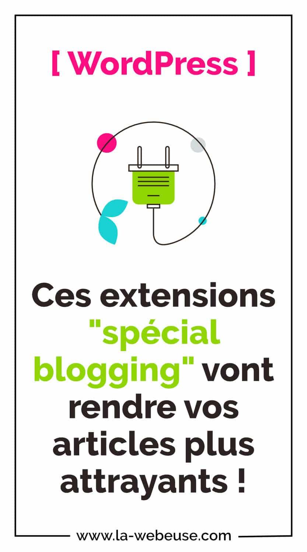 Extensions Blogging WordPress