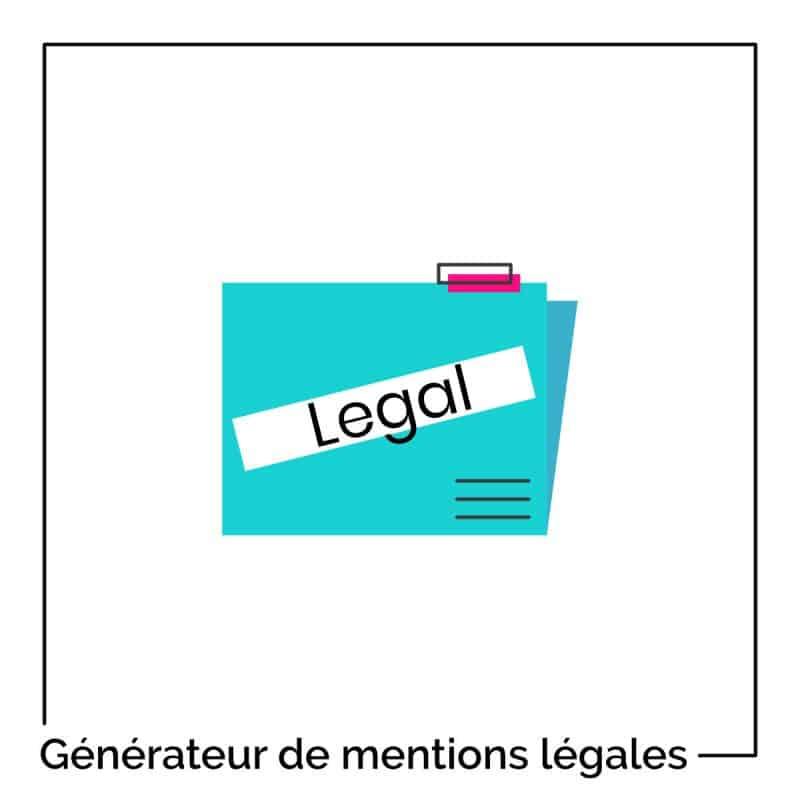 Générateur de mentions légales pour WordPress – conforme au RGPD, gratuit et sans inscription !