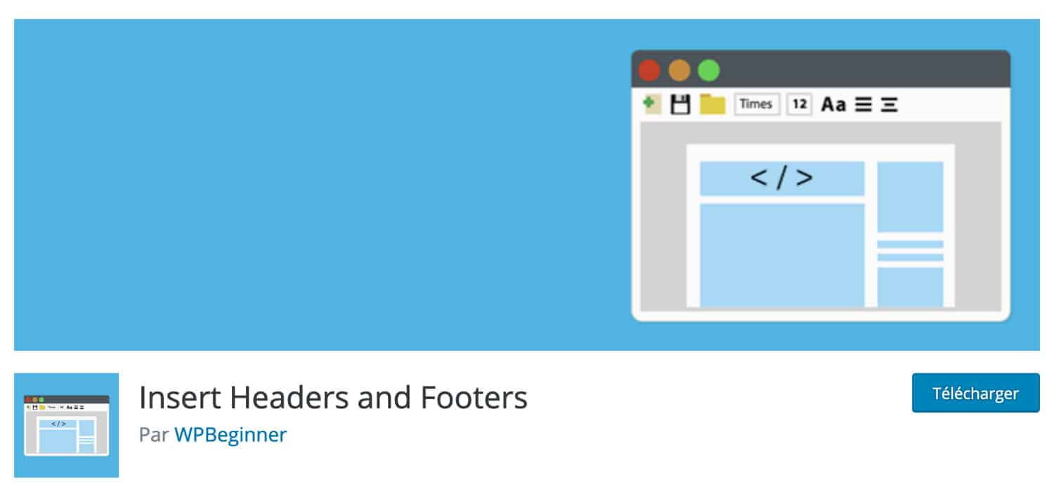 Insert Headers And Footers Plugins