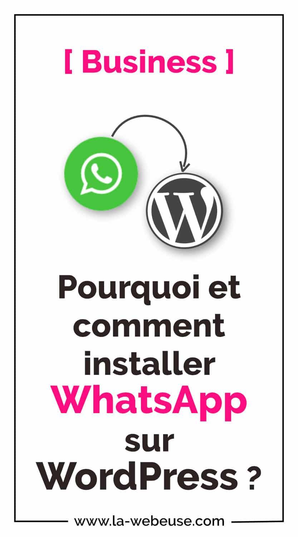 Whatsapp Business Marketing Pin