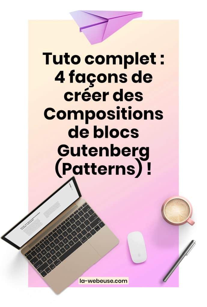 Pattern Gutenberg Pin