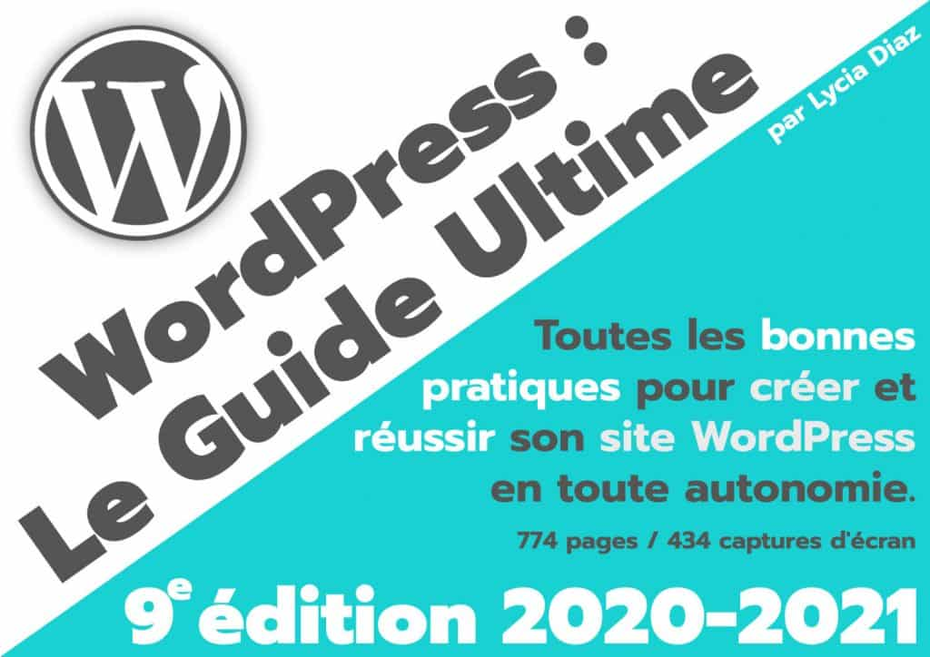 Couverture Ebook WordPress 2020 2021 Light