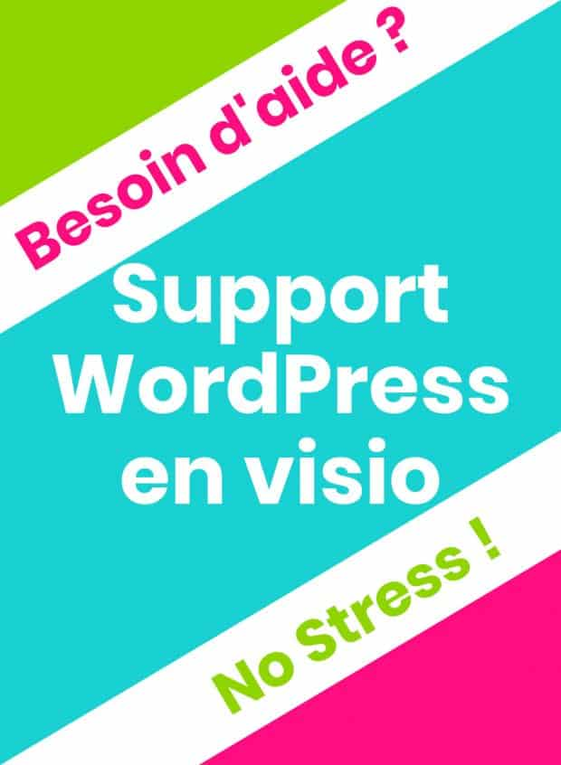 Support WordPress en Visio