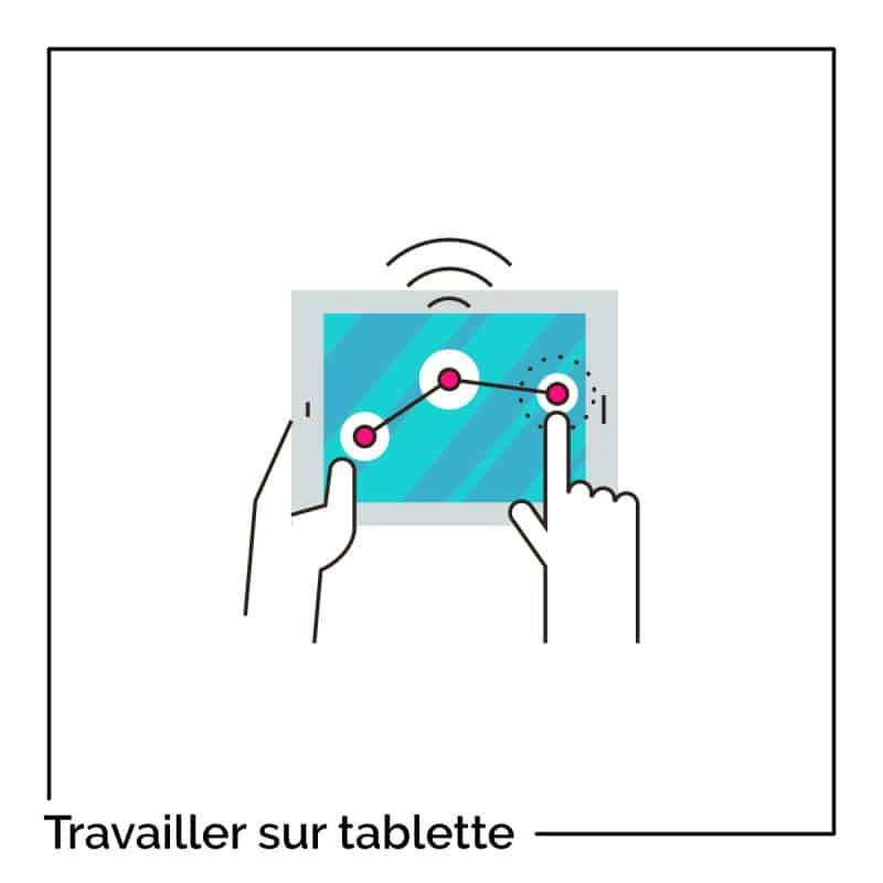Travailler sur tablette quand on est freelance ou entrepreneur
