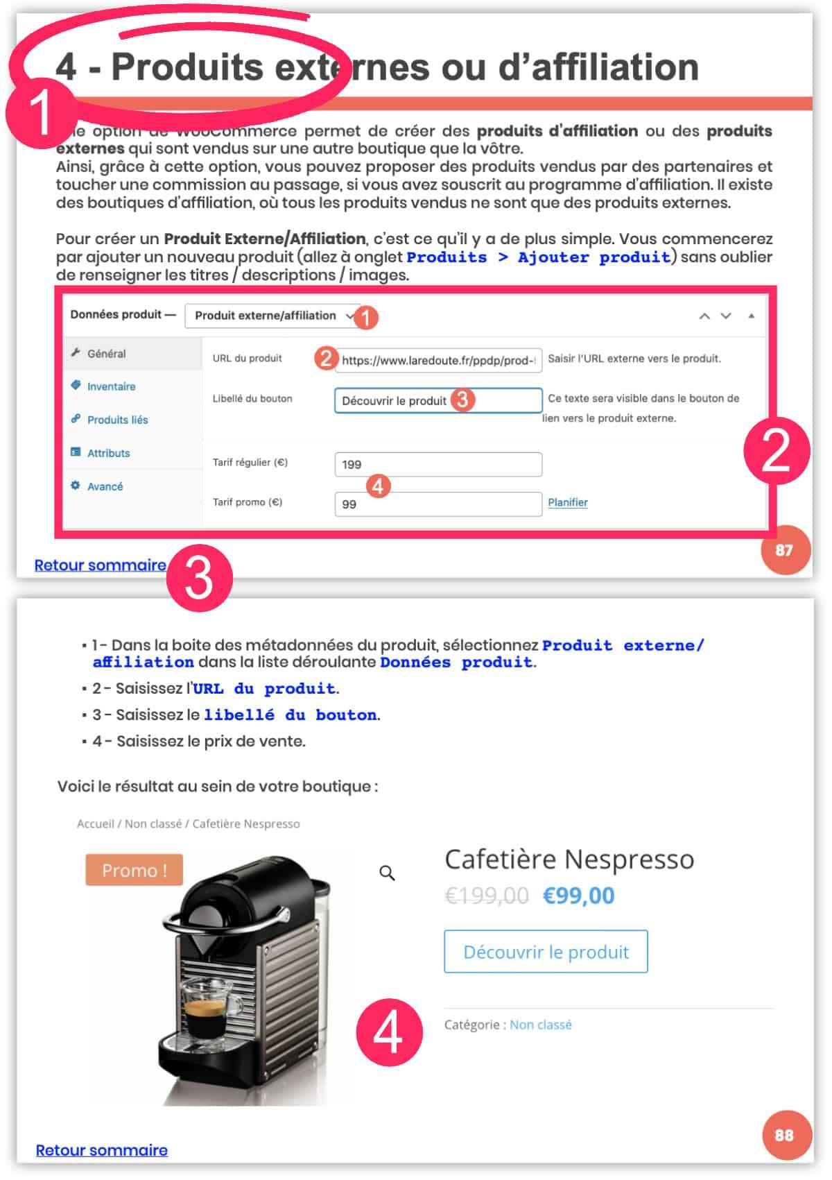 Ebook WooCommerce pour créer une boutique en ligne