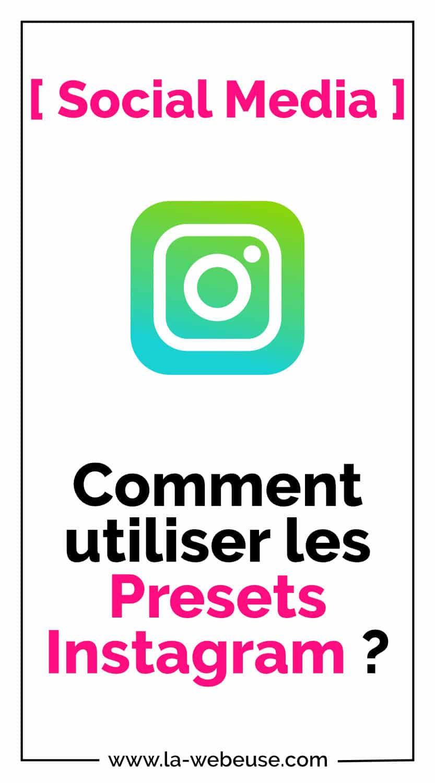 Presets Instagram Pin 1