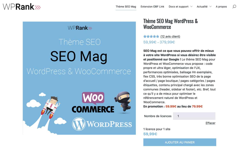 SEOMag Thème WordPress Premium