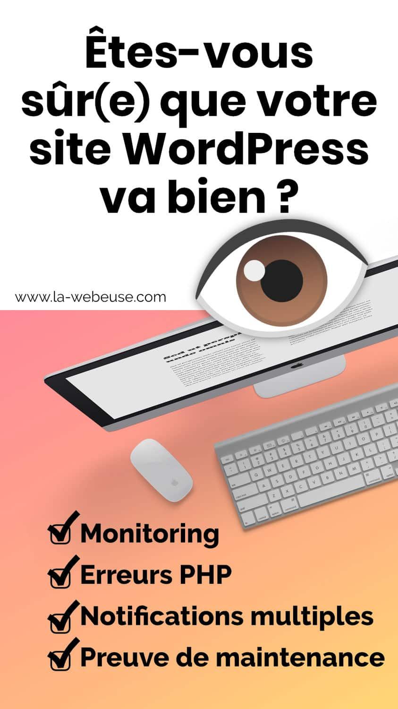 WordPress monitoring (surbeillance)