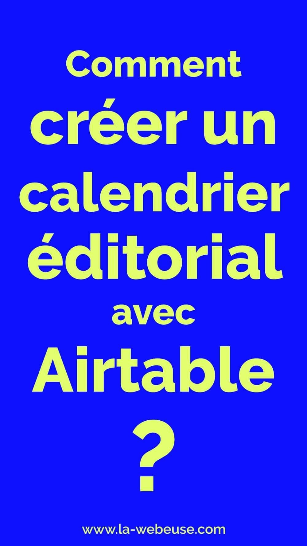 calendrier editorial airtable