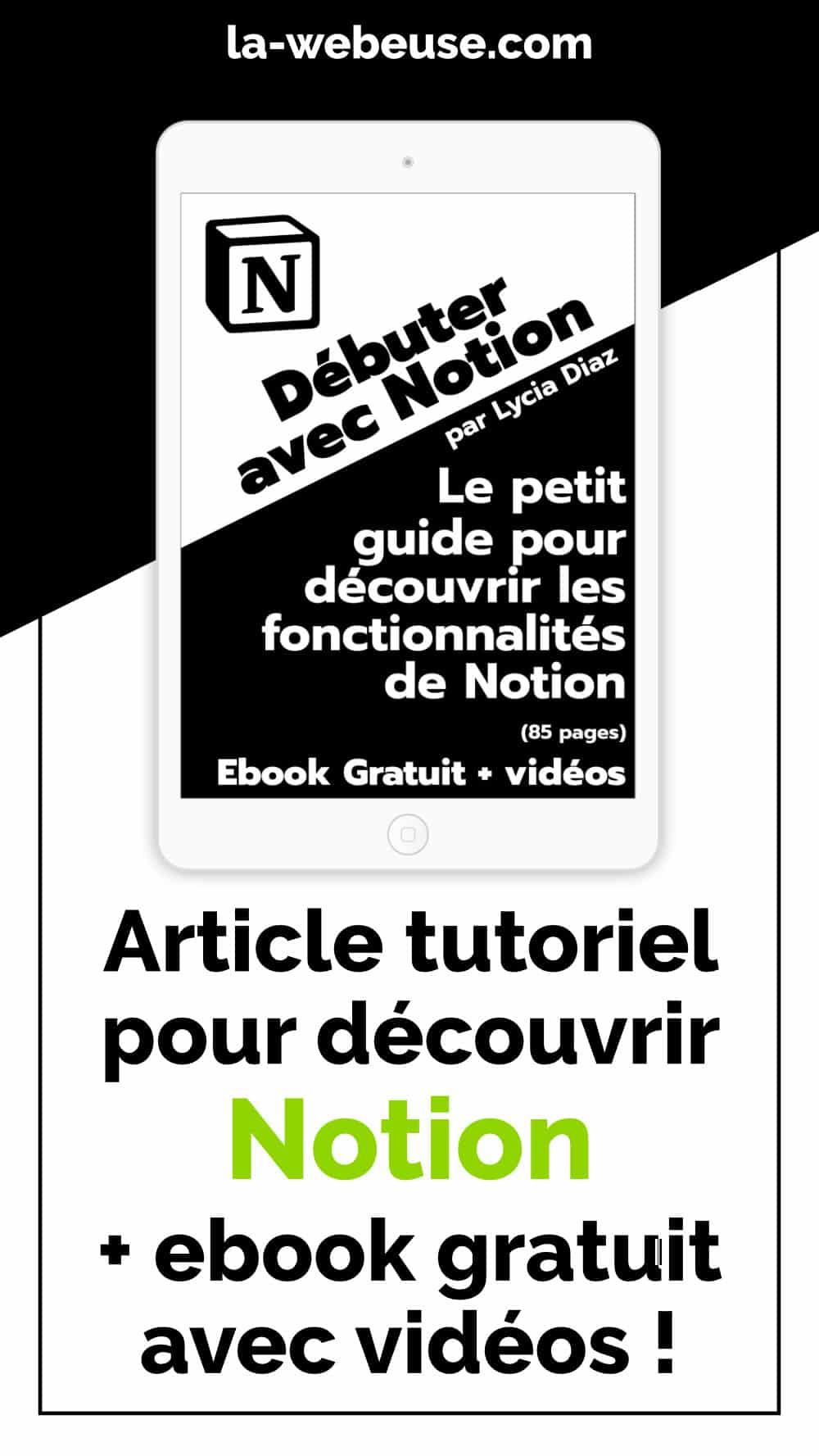 ebook Notion en PDF