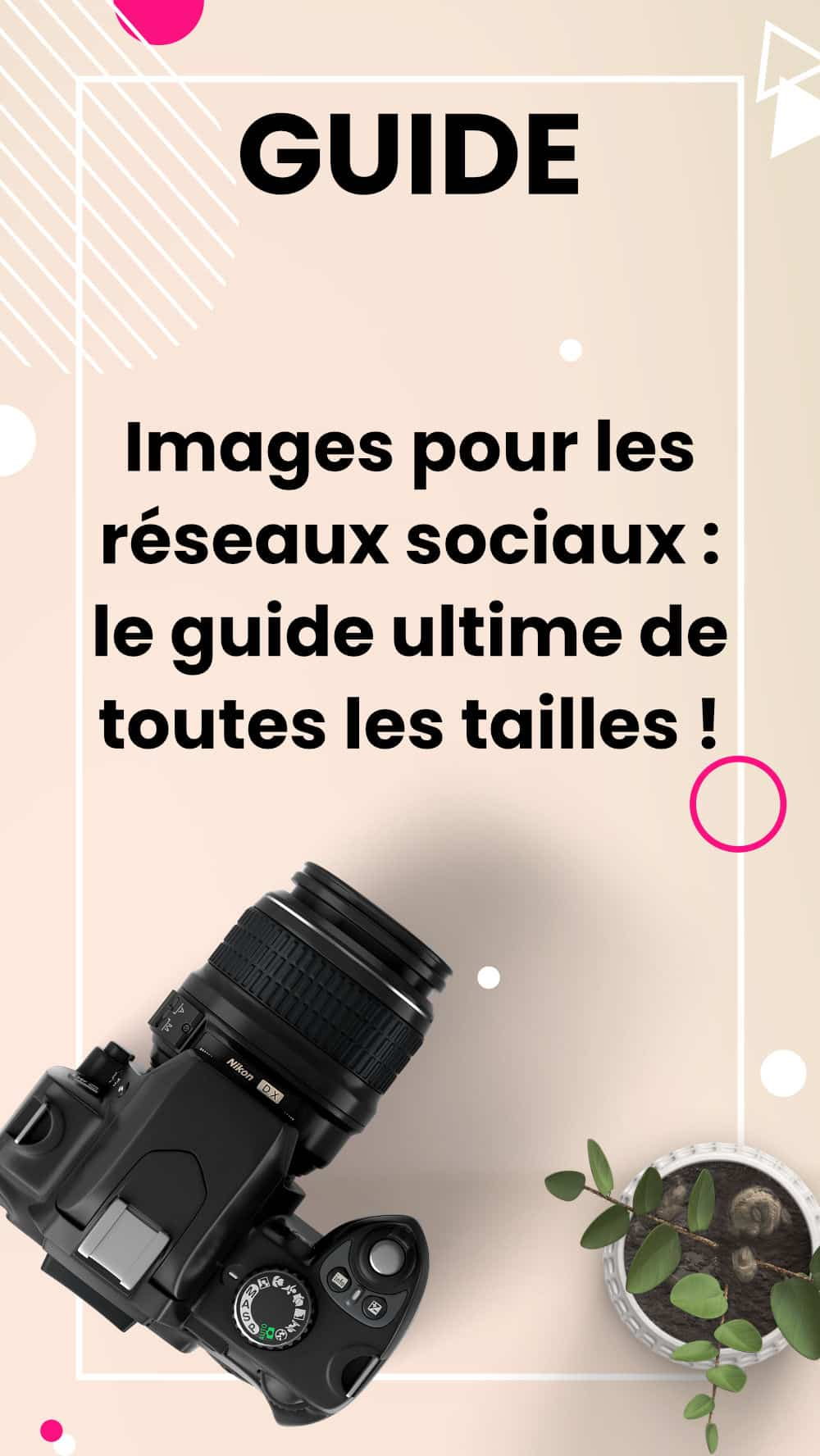 guide tailles images pin