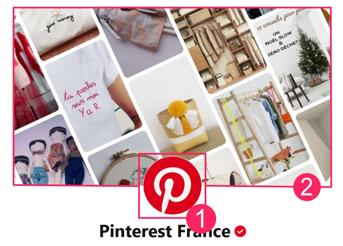Taille image Pinterest