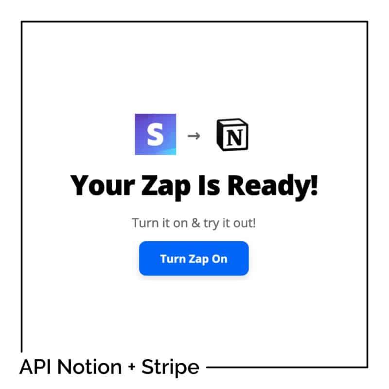 API Notion : connectez Stripe avec Notion pour suivre vos ventes en ligne !